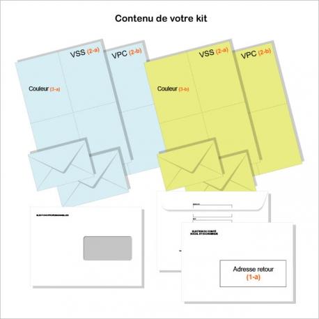 Kit pour élection délégués du personnel