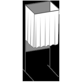 Location d'isoloirs de vote